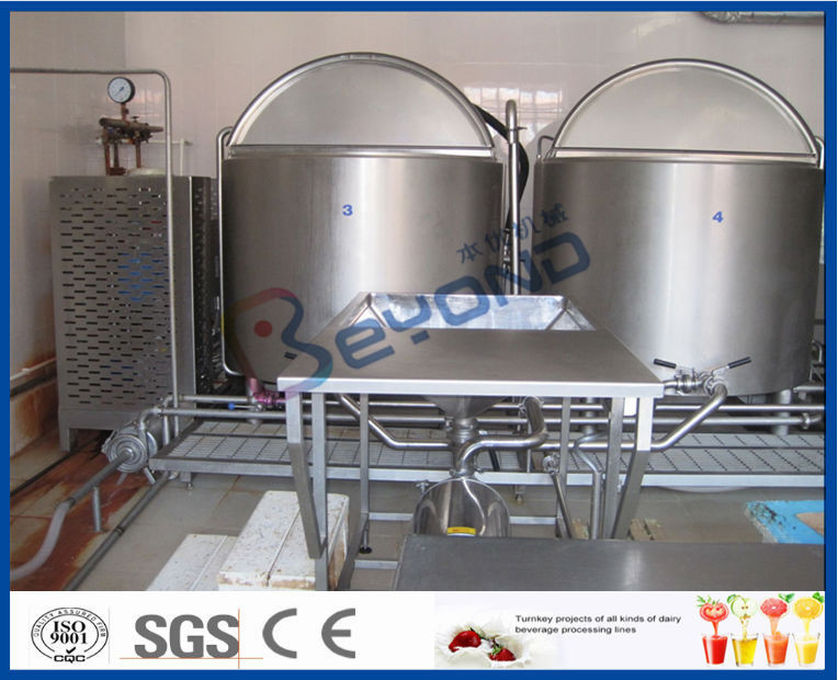 Automatic Control Ice Cream Processing Equipment 380V 50hz 1 Year Warranty
