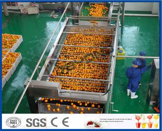 استخراج عصير البرتقال التلقائي 10TPH خط تجهيز البرتقالي لصنع مصنع عصير