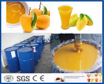 خط المعالج آلة المانجو تجهيز الفاكهة لتجهيز معمل عصير