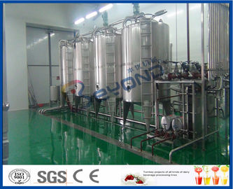 خط تجهيز عصير الفواكه 10TPH 2TPH ISO لعملية إنتاج عصير الفواكه