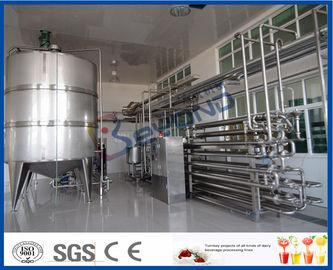 معدات البسترة الحليب الداخلي العقيم لتجهيز معمل الألبان